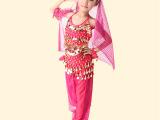 六一儿童演出服装套装 儿童肚皮舞套装新款 儿童印度舞套装演出服