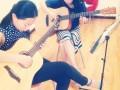 女生学吉他 擎楚艺术 汉口吉他培训吉他轻松学