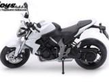 新款合金模型 本田大黄蜂摩托车 玩具摩托车 声光回力合金车