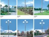 户外酒店广场单头双头3头道路灯 别墅园林小区花园不锈钢庭院灯