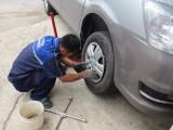 番禺南浦更换轮胎换胎 广州碧桂园紧急修车 电瓶搭电