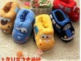 特价 儿童汽车卡通保暖鞋 儿童卡通棉拖小