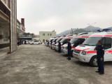 安阳长途救护车 救护车转院病人返乡