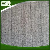 专业生产双面条纹中底2m 涤纶针刺无纺布 耐磨针刺无纺布