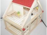 益知乐供应玩具创意玩具木制玩具迷你别墅 儿童益智搭建房子玩具