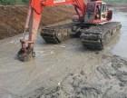 郑州市高新区水上挖掘机出租清淤挖掘机租赁