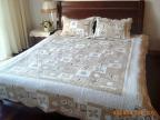 508欧式简约概念 绗缝纯棉水洗 床单 床盖 三四件套 批发零售