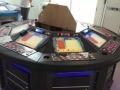 圆盘保单游戏机2组,电玩凳子