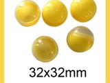 厂家直销 塑料彩色玩具球扭蛋圆形蛋壳摇奖球 32MM