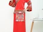 中式婚礼新娘结婚红色亮片秀禾服礼服敬酒服旗袍绣秀和服孕妇大码
