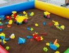 儿童户外蹦极床、沙池、钓鱼水池及全套儿童乐园设备转让可单项转