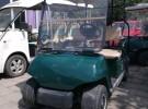 两座四轮电动车 四座园区 代步游览车 全新车 二手高尔夫球车13500元