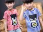 广州最便宜中小童装服装批发市场网上几块钱男女童上衣批发