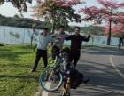 游松山湖看美景 烟雨自行车出租