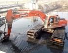 郴州市嘉禾县清淤机械设备水陆两用挖掘机出租