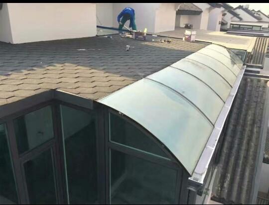 太原阁楼制作钢结构楼梯现浇阳台扩建阳光房彩钢瓦房