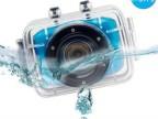 720P高清运动防水摄像机 多功能高性能迷你DV  触摸屏数码摄像机