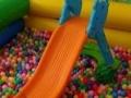 儿童沙池玩具沙海洋球滑梯