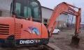 斗山 DX60 挖掘机  (这个车动作特别快)