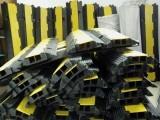 橡胶线槽板过线桥线槽减速带租赁
