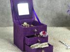 韩国时尚珠宝首饰盒 多层美容美甲彩妆工具箱批发定做 多色混批