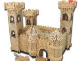 王子城堡 新品上架 热销DIY拼装益智拼图 木制模型玩具