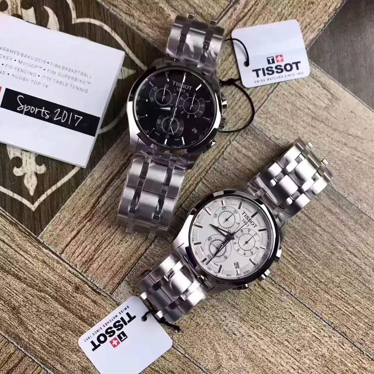 复刻瑞士手表一比一精仿Tissot天梭COUTURIER系列