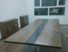 石家庄办公家具办公桌工位桌一对一培训桌钢架办公桌