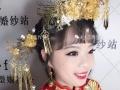 太原艾维斯化妆学校彩妆讲师新娘跟妆