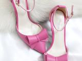 2014春新款女鞋韩国公主尖头凉鞋 女中跟平底高跟鞋细跟女