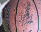 梦舟篮球队 明星签名篮球一个 个人珍藏 陈道明等