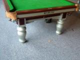 低價轉讓二手正品星牌臺球桌 二手星牌鋼庫臺球桌