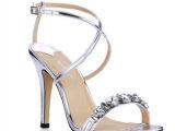韩国外贸原单工厂授权直销明星同款走秀高跟细跟水钻简约凉鞋