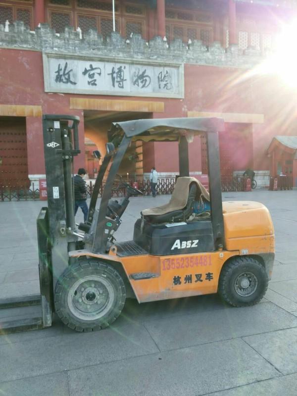 北京丰台叉车租赁白天可以进城24小时服务