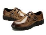 2015新款真皮冬季男士休闲商务正装系带真皮鞋英伦透气低帮男鞋