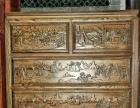 全新俄罗斯进口老榆木精雕刻实木家具
