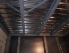 大兴钢结构阁楼室内钢结构二层彩钢房钢结构阳台封顶