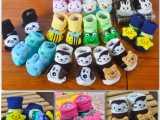 儿童袜子 全棉防滑婴儿袜子 宝宝/新生儿地板袜/立体袜批发