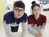 韩版2014秋冬装情侣毛衣批发加厚羊毛衫
