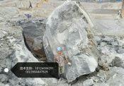 取代膨胀剂爆破硬石头效率高