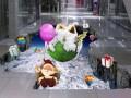 北京朝阳地贴高清喷绘制作安装华维时代地贴膜喷绘