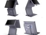 厂家智能15.寸双屏高清触摸屏访客机 收银机 点餐机 一体机
