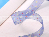 厂家直销  姚明织带丝带批发 雪纱小海锚绸带  AX102370