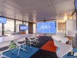 西安中式办公室设计该挑选家具