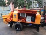 高压内燃电动地泵车细石地泵车,地坪地暖拖泵输送泵租售