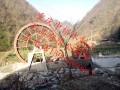 贵州景观水车遵义防腐木水车价格重庆水车厂家