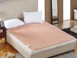 超柔水晶绒床护垫花边夹棉绗绣双人床褥床护