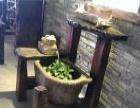 老船木家具厂家直销茶几茶桌餐桌办公台博古架沙发实木