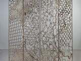 广州金筑达可折叠不锈钢屏风隔断 镂空不锈钢花格屏风