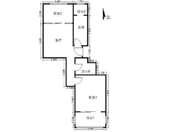 店长推介 走路到8号线 商满五一套房 少见的户型 南北向 价